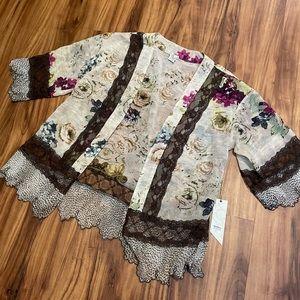 Buckle BKE Kimono Cover Up
